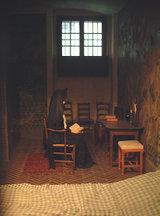 再現されたマリー・アントワネットの独房