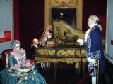 ルイ15世の前で演奏するモーツァルト